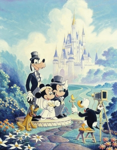 mickey-and-minnie-wedding-painting-by-randy-souders-hidden-mickeys